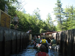 Upper Lock near Saranac Lake