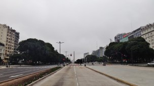 Buenos Aires obelisk July 9th Avenue