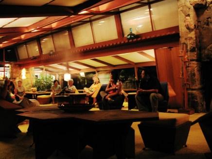 Taliesin West interior Frank Lloyd Wright 061
