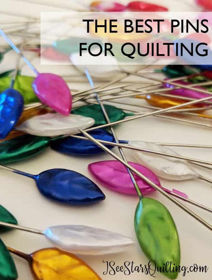 little details like this make all the difference in a sewing room with personality. which pins are the ones you simply MUST have on hand? Read here www.iseestarsquilting.com