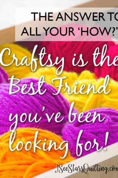 Craftsy is the best friend you've been looking for! It features tutorials and high quality videos of all kinds of diy projects! There are so many videos on quilting!