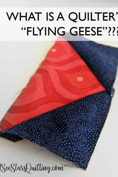 """Ever asked yourself """"What is a Quilter's flying geese"""" ? - Its an easy way to create beautiful intricate quilts with fun shapes and endless applications. Included is a free tutorial how to make them as well as several FREE patterns to download!"""