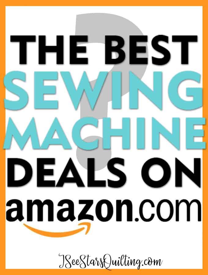 If you're in the market for a new sewing machine, check out these deals from amazon! Why start with Amazon? These machines have tons of reviews from sewists just like you and are 5-Star machines! Here are my Beginner and Intermediate level picks!