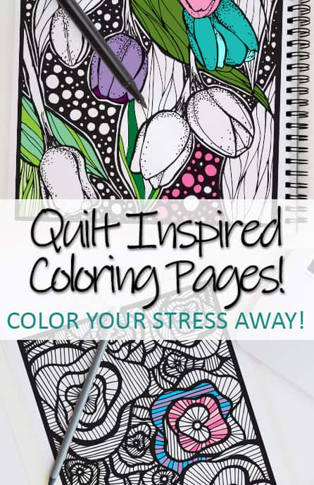 Coloring is a great way to relax, unwind, and de-stress! Adult coloring pages are super popular! Remember what it's like to be a kid and finish a beautiful picture... and then go hang it up on your own refrigerator because, wow. YOU DID AWESOME on it!