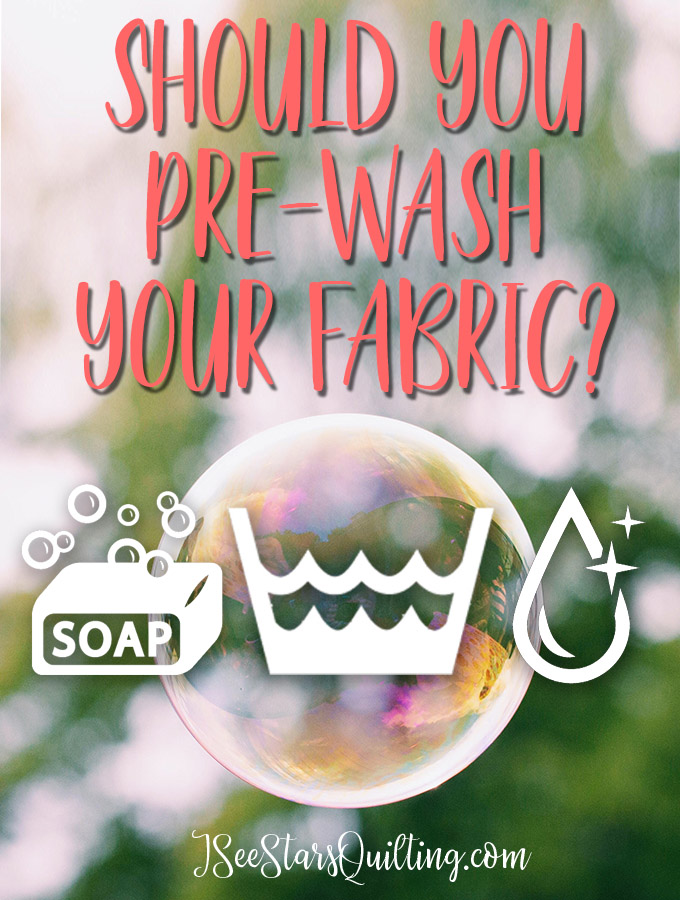 Should you pre-wash your fabrics? Check out these tips and tricks to see if you can skip the time consuming step of pre-washing your fabrics!