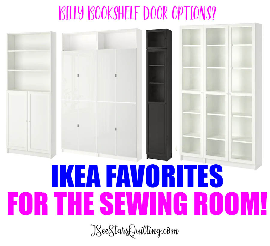 I LOVE shopping at Ikea, but it can get overwhelming! These are my Favorite Ikea Products for the Sewing Room! + Pictures!