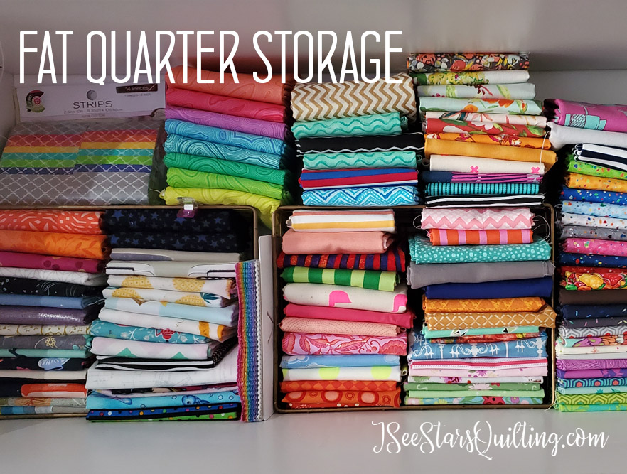 After Sewing room Renovation picture - Fabric storage
