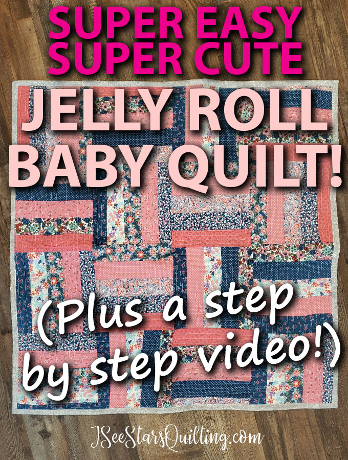 An Easy Jelly Roll Quilt