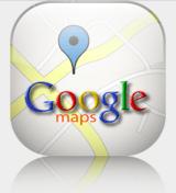 Google-maps logo - tilhører Google