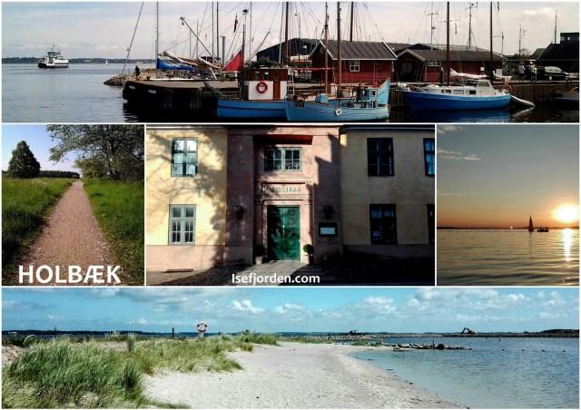 Collage med fotos fra Holbæk