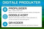 Digital produkter Isefjorden - Profilsider, Google-kort og QR-koder