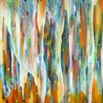 Akrylmaleri af Mette Thorgård http://mettesgalleri.dk/