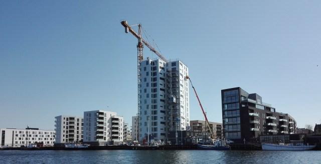 Højhus Holbæk havn - April 2019. Isefjorden.com