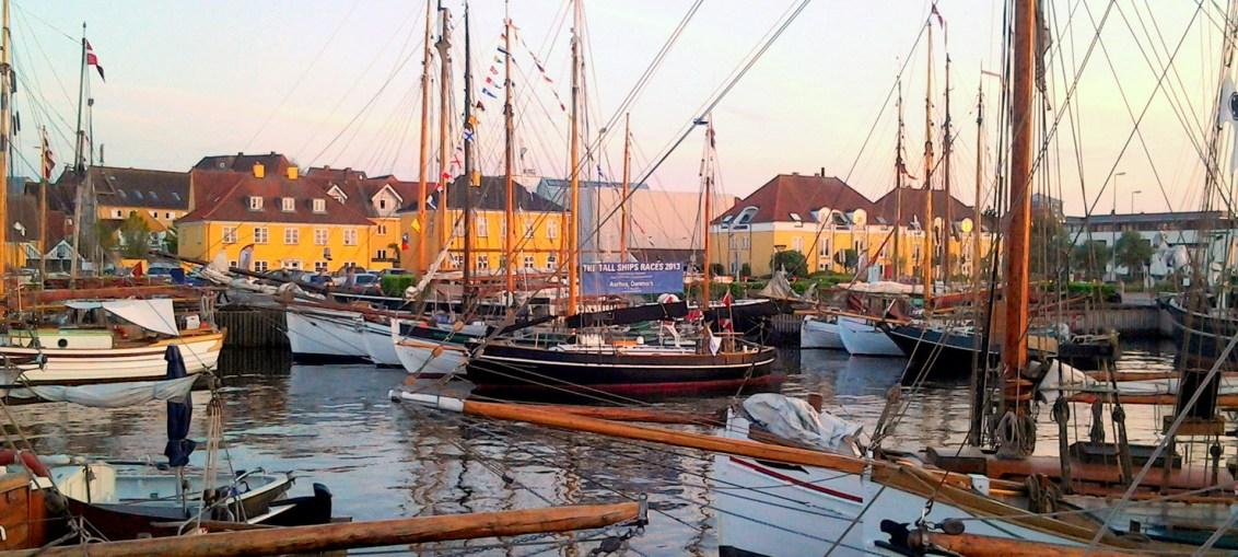 Holbæk gammel havn. Foto Isefjorden.com