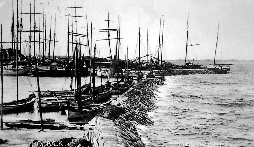 Holbæk havn - ukendt datering