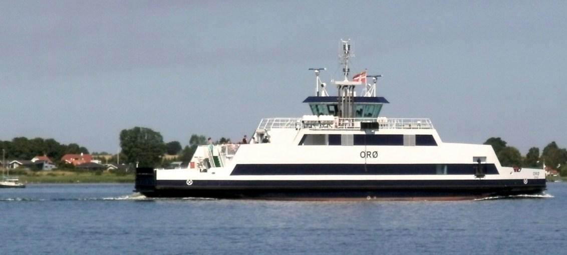 Holbæk-Orø færgen