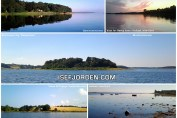 Collage med fotos fra Isefjorden