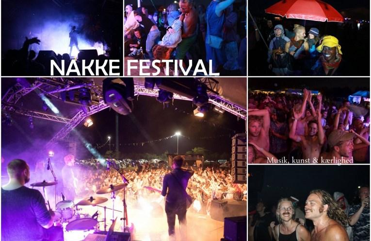 Collage med fotos fra Nakke festival
