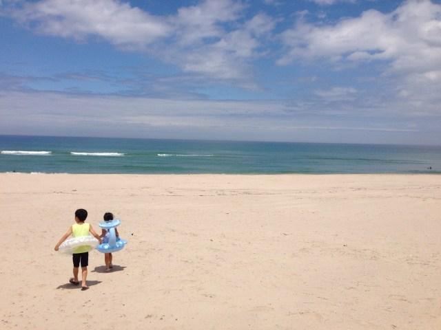 伊勢志摩の砂浜
