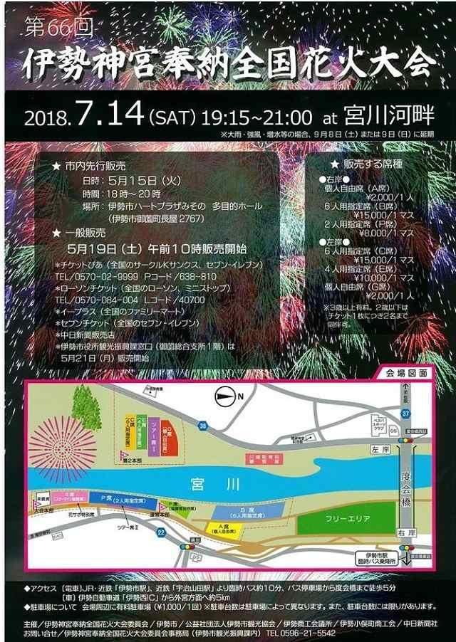 伊勢神宮花火大会2018