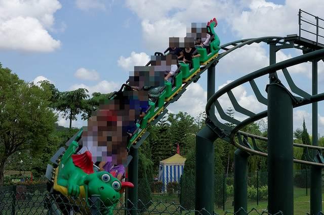Legolandアトラクション