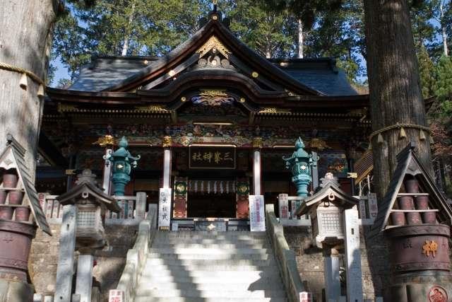 三峰神社(三峯神社)秩父