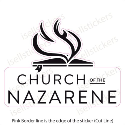 RE-7001 Church of The Nazarene Evangelical Christian Decal Sticker