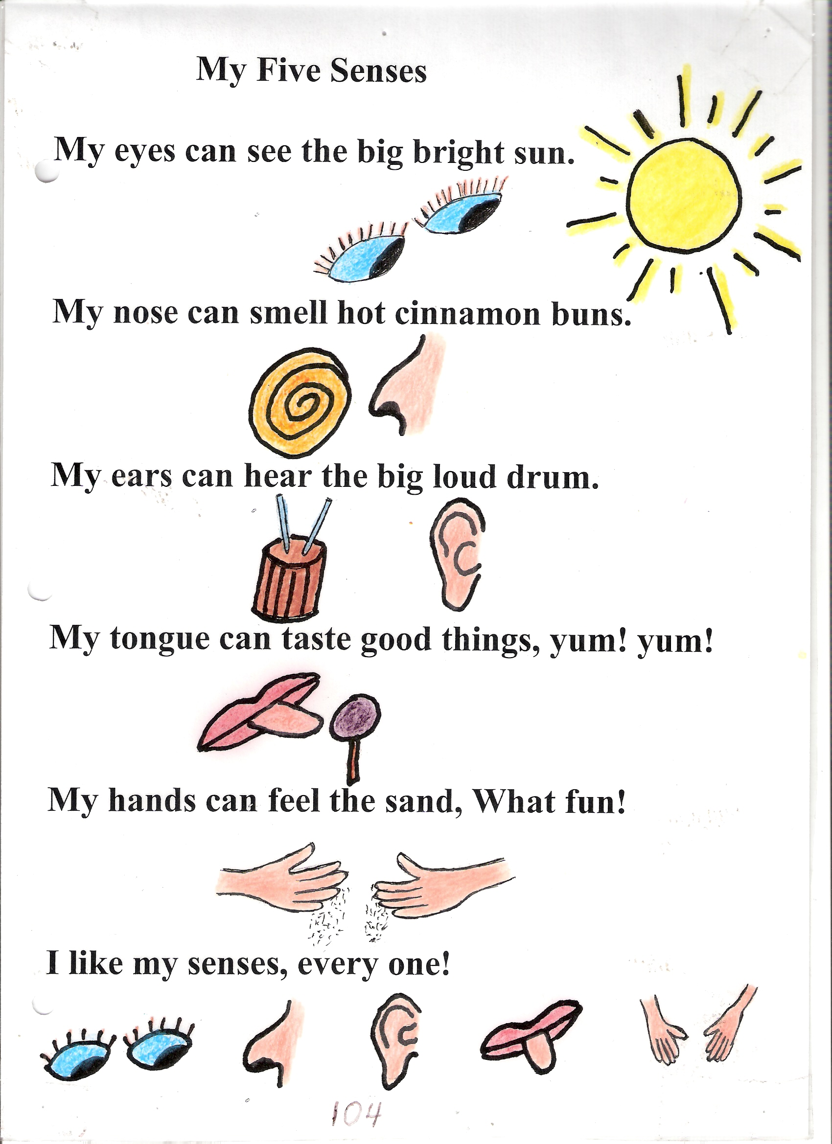 Five Sense Worksheet New 239 Five Senses Preschool Art