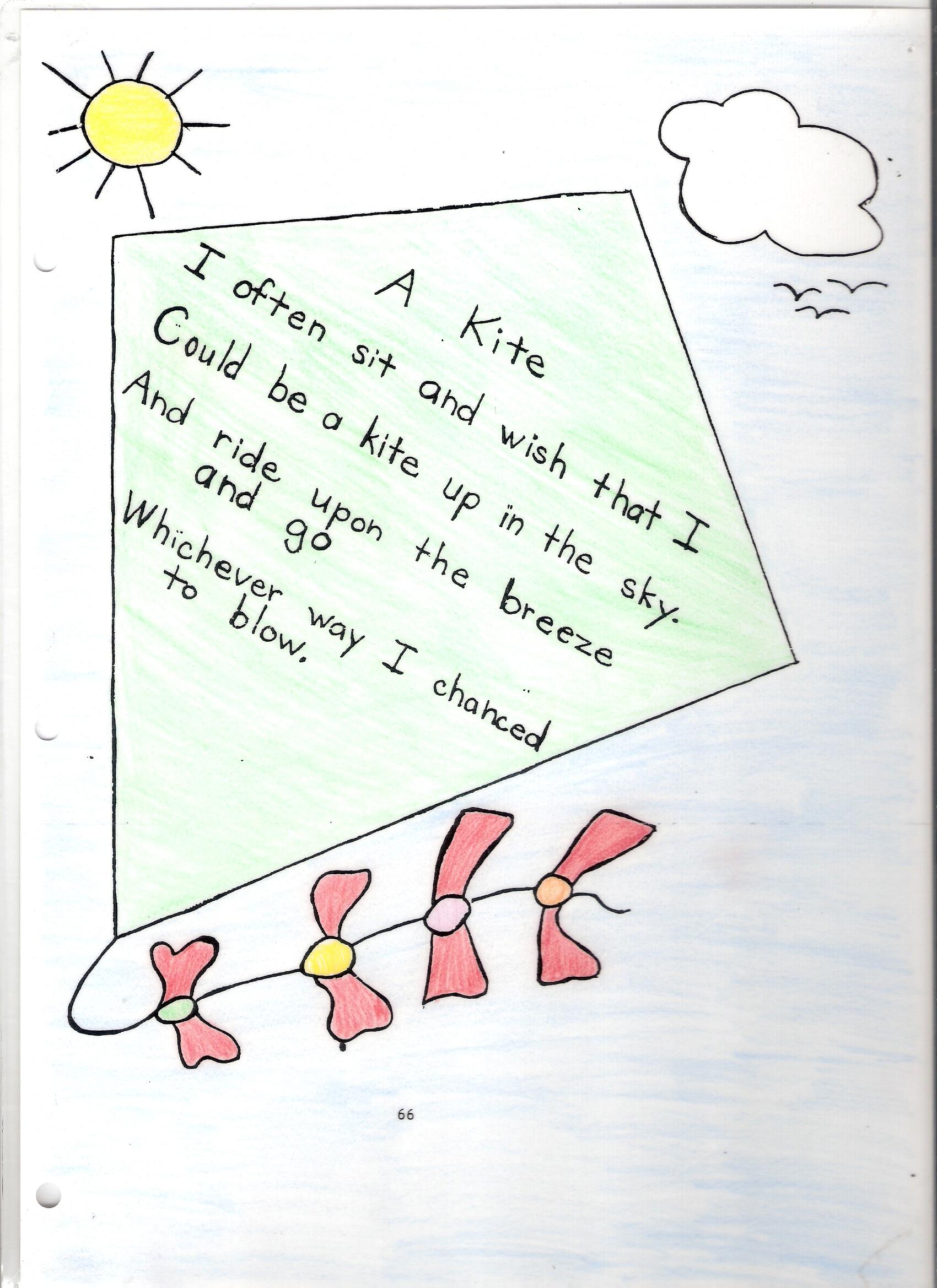 Kites Worksheet