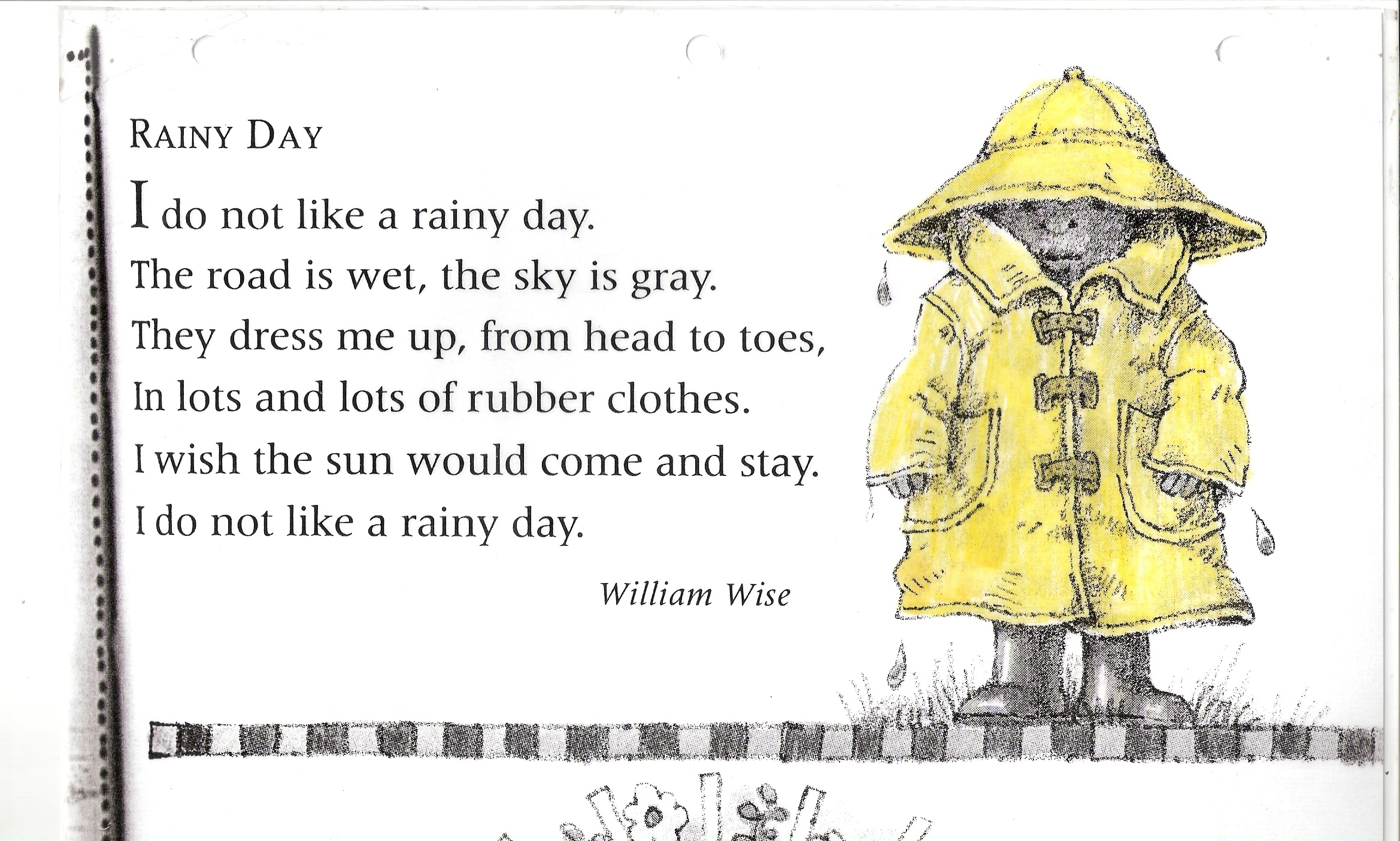 Poem No 14 Rainy Day
