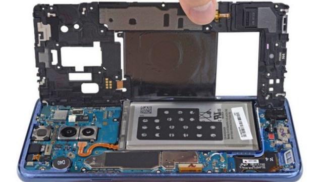 iFixit desmonta el Samsung Galaxy S9+ para enseñarnos su interior