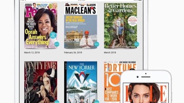 Apple compra Texture, un servicio de suscripción a revistas digitales