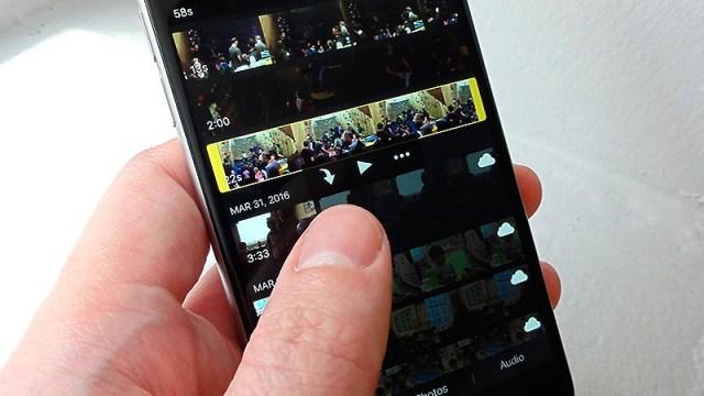 iMovie se actualiza para adaptarse a la pantalla del iPhone X y adopta el procesamiengo gráfico por Metal