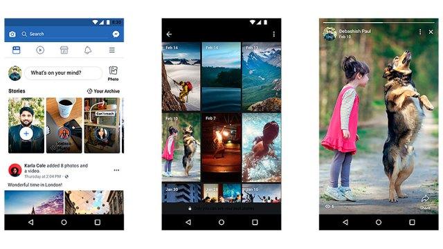 Facebook ahora te permitirá tener un archido de Stories ordenandas cronológicamente para que tengas una mejor visualización y acceso de tus publicaciones favoritas