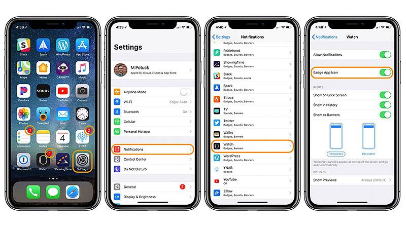 Cómo desactivar los globos rojos de notificaciones en los iconos de las apps que no necesitamos