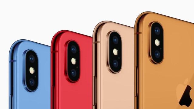 """Una imagen confirmaría los colores rojo y azul del iPhone 6,1"""""""