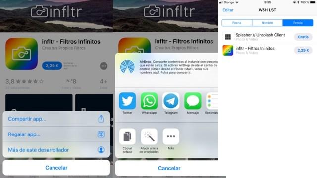 WSH LST, la app que recupera la lista de deseos de la App Store