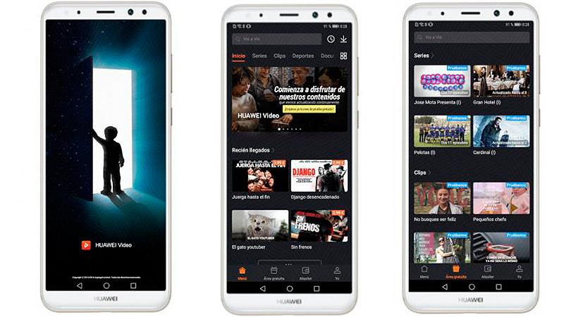Huawei Video disponible para dispositivos Huawei y Honor