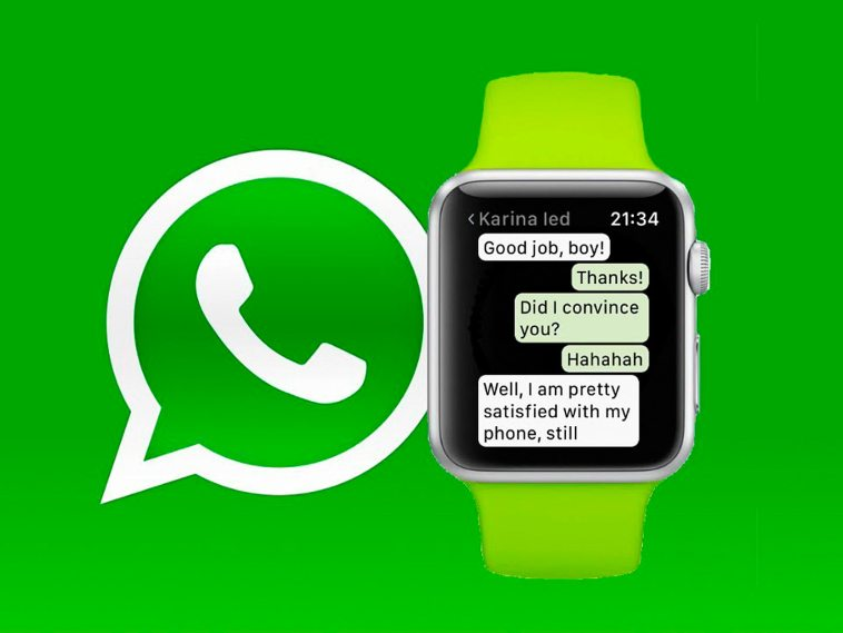 WatchUp es la mejor forma de usar WhatsApp en interactuar desde tu Apple Watch