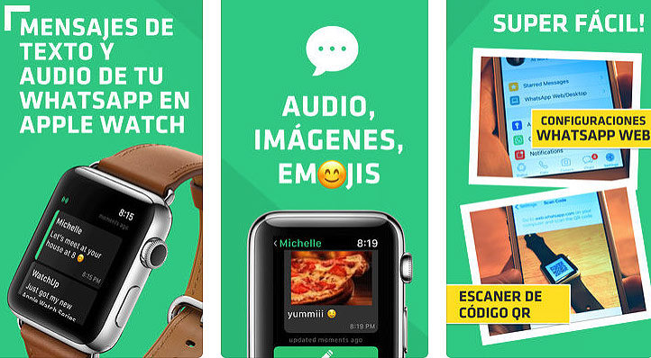 WatchUp, la app para interactuar con tus chats de WhatsApp desde tu Apple Watch