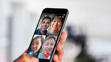 Skype ya permite compartir pantalla desde un dispositivo iOS o Android
