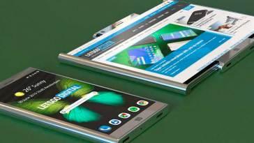 La nueva patente del Samsung con pantalla enrollable