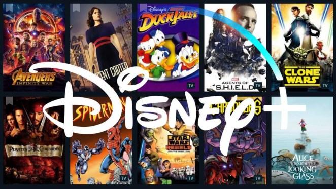 Disney + catalogo