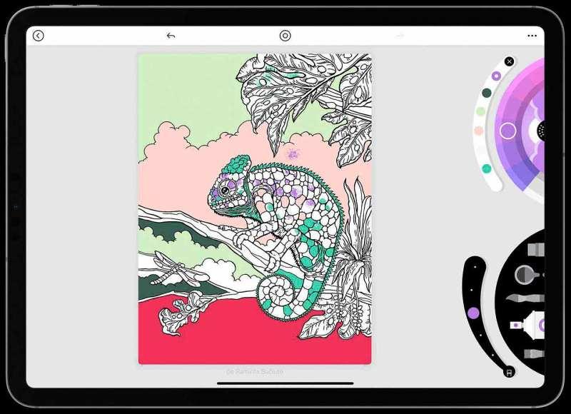 Así se ve Lake en el iPad