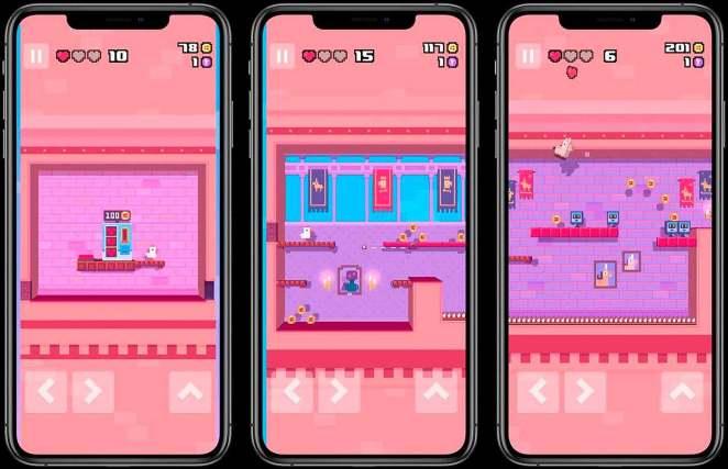 Crossy Road Castle en pleno GamePlay del iPhone