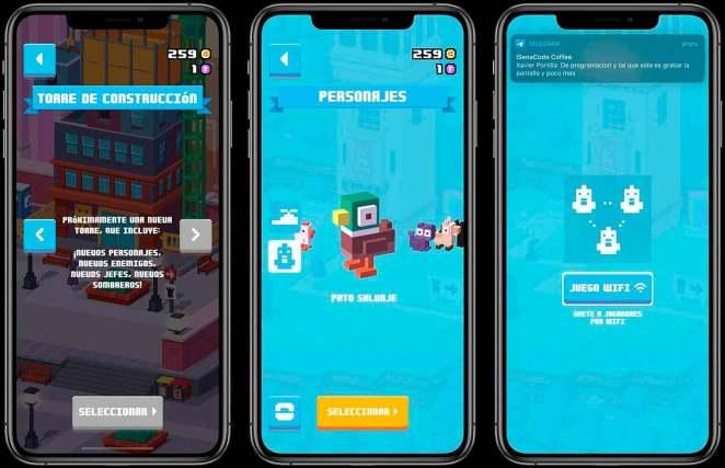 Personajes y más de Crossy Road Castle para iOS y tvOS