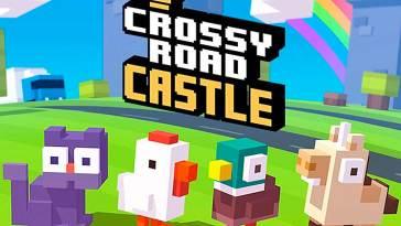 Así es Crossy Road Castle el nuevo juego de plataformas cooperativas de Apple Arcade