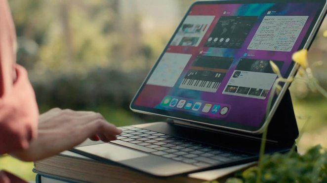 El nuevo cursor y el Magic Keyboard del nuevo iPad Pro e iPadOS