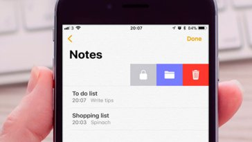 Cómo bloquear notas en iPhone, iPad y Mac