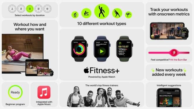 Así es Fitness+ de Apple, el nuevo servicio deportivo por suscripción